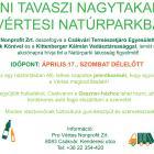 Egyéni szemétszedésre hívjuk fel a Natúrparki lakosság figyelmét! 2021 április 17. (szombat)