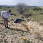 Újabb avar temető került elő Csákberényben