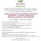 MEGHÍVÓ - Online konferencia a