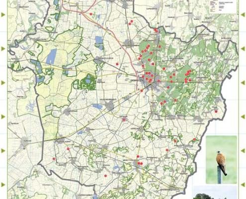 debrecen erdőspuszta térkép Hajdú Bihar megye helyi jelentőségű természetvédelmi területei debrecen erdőspuszta térkép