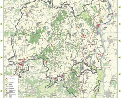 tolna megye térkép Tolna megye helyi jelentőségű természetvédelmi területei tolna megye térkép